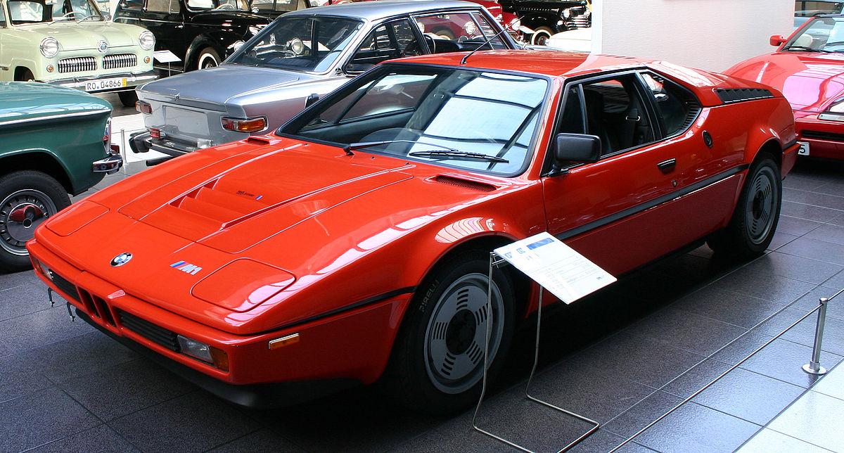 первая спортивная модель bmw m1