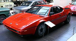 BMW M - Image: BMW M1 1