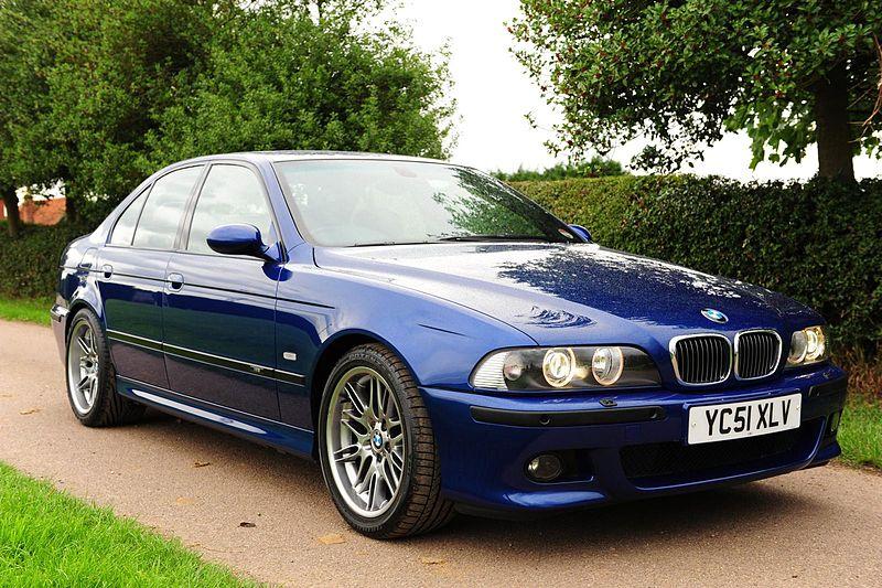File:BMW M5 E39 (Blue).jpg