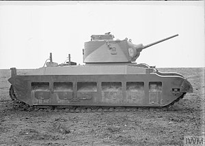 Matilda II - Matilda II A12E1 prototype