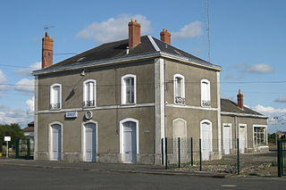 Montreuil-Bellay station railway station in Montreuil-Bellay, France