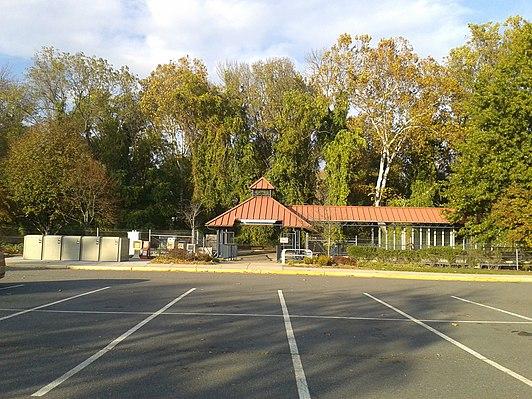 Backlick Road station