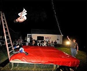 Backyard wrestling - Image: Backyard wrestlers