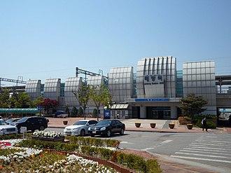 Baebang station - Image: Baebang Station