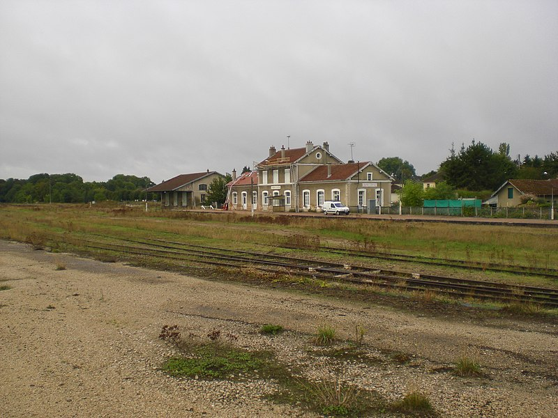 Brienne-le-Chateau railway station without passager trafic