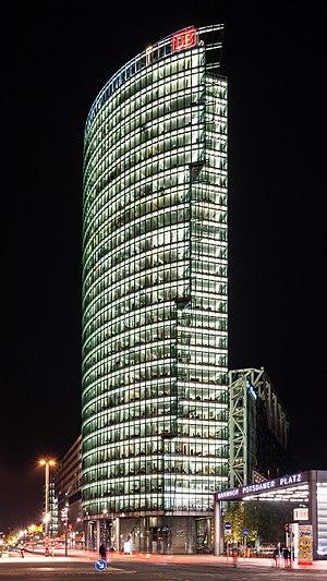 Bahntower - Image: Bahntower, Potsdamer Platz, Berlin, 141027, ako