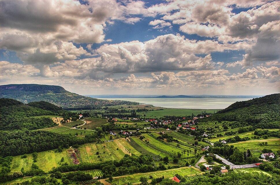 Balaton Hungary Landscape