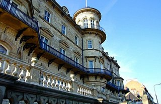 Saltburn-by-the-Sea Town in North Yorkshire, England