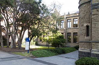 Walter Baldwin Spencer - The Baldwin Spencer Building at the University of Melbourne