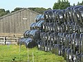 Bales at Morley Park farm - geograph.org.uk - 1451092.jpg