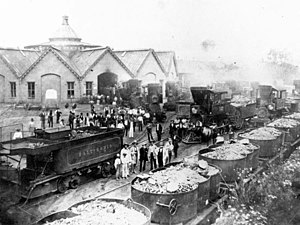 Baltimore and Ohio Railroad Martinsburg Shops - Image: Baltimore and Ohio Railroad Martinsburg Shops, circa 1858