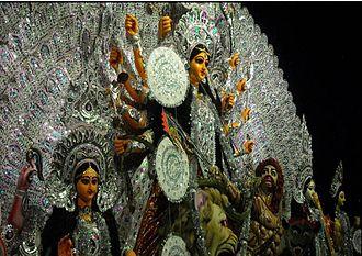 Bamangachhi - 50th year Durga Puja celebration by Agrani Sangha, Bamangachhi