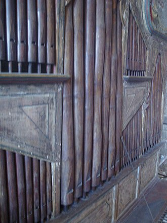 Bamboo Organ - The charming buckled pipes