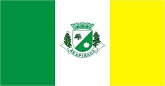 Arapiraca - Image: Bandeira arapiraca