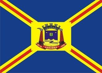 Corumbá - Image: Bandeirade Corumbá