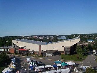 Bangor Auditorium - Bangor Auditorium from Bass Park