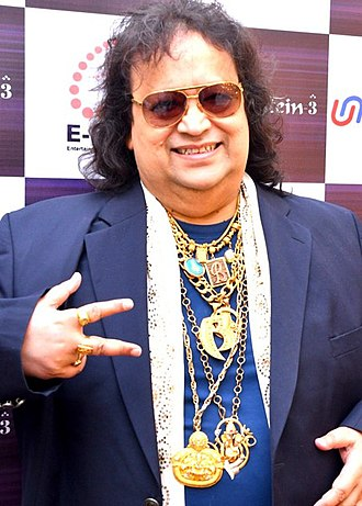 Filmfare Lifetime Achievement Award - Image: Bappi Lahiri graces musical concert 'Rehmatein 3'