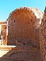 Baptisterium, The Northern Church, Shivta, Negev, Israel אגן טבילה, הכנסיה הצפונית, שבטה, רמת הנגב - panoramio.jpg