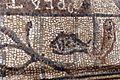Bari, duomo, interno, mosaici paleocristiani della prima chiesa bizantina 04.jpg
