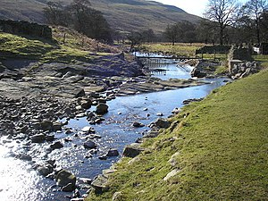 Barbon Beck - Barbon Beck near its confluence with Aygill