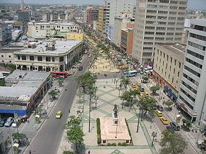 Barranquilla - Paseo de Bolívar