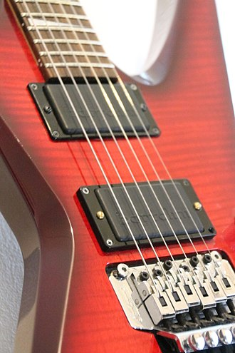 Bartolini Pickups and Electronics - Bartolini E-90D (bridge) ja E-88D (neck) -active guitar pickups.