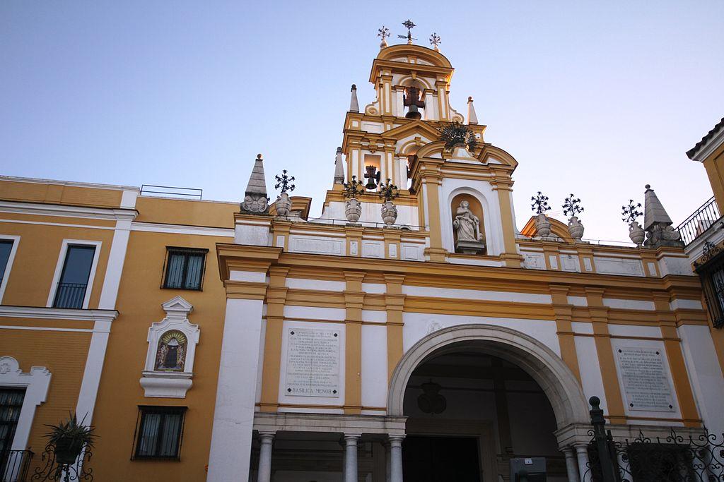 Façade de la basilique de la Macarena à Séville - Photo © José Luiz Bernardes Ribeiro / CC BY-SA 3.0