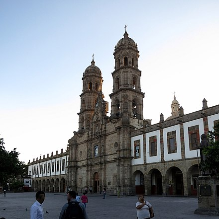 Basilica of Our Lady of Zapopan in Zapopan, Jalisco Basilica de Nuestra Senora de Zapopan (Zapopan, Jalisco) - exterior and plaza.jpg