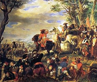 Battle of Marsaglia - Catinat at Marsaglia, 4 octobre 1693