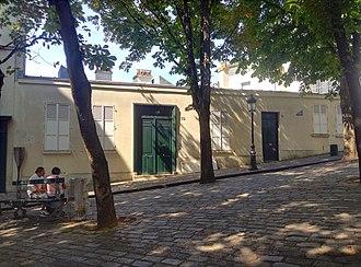 Le Bateau-Lavoir - The rebuilt building now on the site of Le Bateau-Lavoir