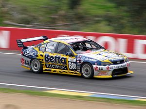 Triple Eight Race Engineering - The Ford BA Falcon of Craig Lowndes and Yvan Muller at the 2005 Bathurst 1000.