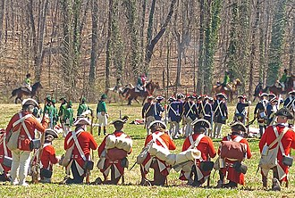 Battle of Guilford Court House - Battle reenactment 2019