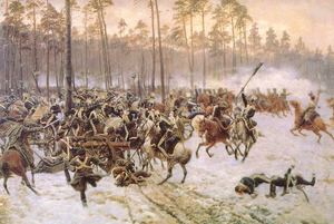 Russian Partition - Battle of Stoczek in 1831, part of November Uprising against the Russian imperial rule
