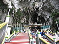 Batu Caves - entrée de la grotte principale.jpg