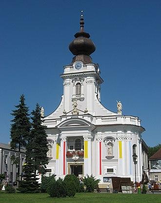 Wadowice - Basilica in Wadowice