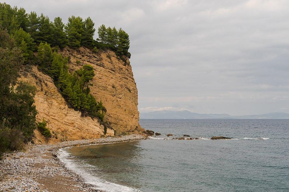 Beach near Kotsikia Euboea Greece