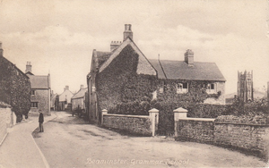 Beaminster Grammar School - School House, late 19th century