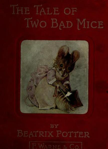 File:Beatrix Potter - The Tale of Two Bad Mice.djvu