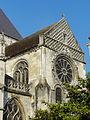 Beauvais (60), église Saint-Étienne, croisillon nord, parties hautes, vue depuis le nord-est.JPG