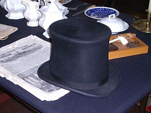 Duluth, Minnesota - Beaver-felt hat, fashionable across much of Europe from 1550 to 1850 because the soft yet resilient material could be easily combed to make a variety of hat shapes, including the familiar top hat
