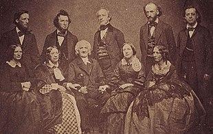 Beecher Family, ca. 1858-1862
