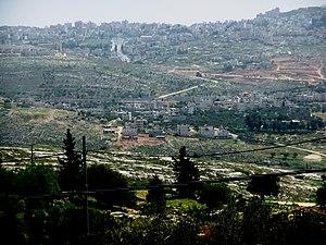 Beit Hanina - Beit Hanina al-Balad (center) Beit Hanina al-Jadid (top)