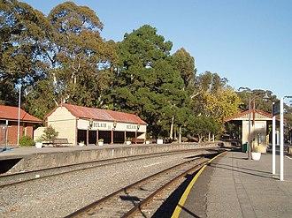 Belair railway line - Image: Belair station