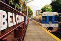 Belgrano R station- Toshiba departing.jpg