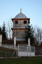 Bell tower of saint Michael church, Velyki Peredrymykhy (02).jpg