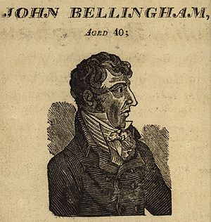 John Bellingham - A contemporary engraving of John Bellingham