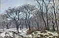 Bemberg Fondation Toulouse - Bois de châtaigniers en hiver, Louveciennes - Camille Pissarro 1872.jpg
