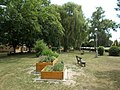 Benches and community herb garden, Petőfi lakótelep, 2019 Csorna.jpg