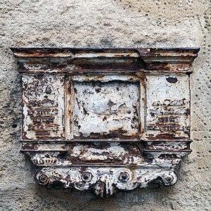 Benchmark, Rue Saint-Germain-l'Auxerrois, Paris.jpg