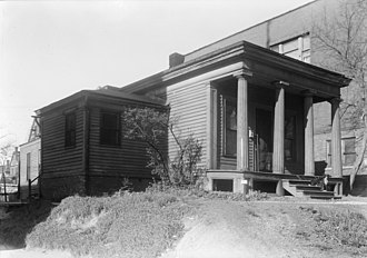 Benjamin Church House (Shorewood, Wisconsin) - The house in its original location